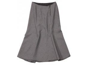 Dámská sukně Rialto Dune černobílý vzor 5956