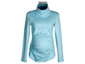 Těhotenské tričko Rialto Tolmachan modrá 0070 (Dámská velikost 38)