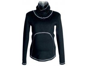 Těhotenské tričko Rialto Greagorry černé 0074 (Dámská velikost 44)
