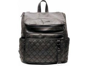 Přebalovací batoh Lisbon Quilted Black Prošívaný