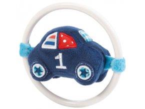 Kousátko Bébé-Jou s plyšovým autíčkem 1-2-3