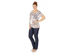 Těhotenské tričko Rialto Court barevná kola 0513 (Dámská velikost 36)