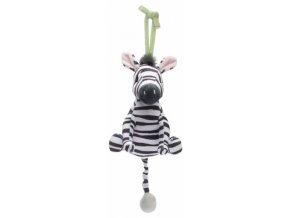 Musicbox Bébé-Jou plyšák Dinky Zebra