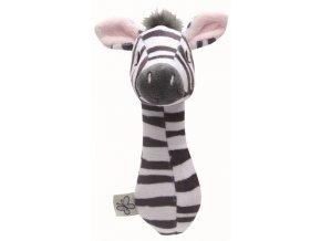 Plyšové štěrchátko Bébé-Jou Dinky Zebra  Rozbaleno z výstavy