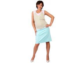 Těhotenská sukně Rialto Barcin modrá 1931