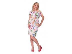 Těhotenská sukně Rialto BRAINE květinový vzor 0306