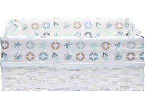 Košík na kojenecké potřeby Bébé-Jou Owl Family sovičky