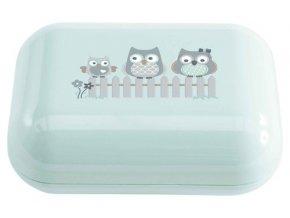 Pouzdro na mýdlo Bébé-Jou Owl family-sovičky