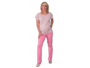 Těhotenské kalhoty Rialto SPA starorůžové  3633 (Dámská velikost 36)