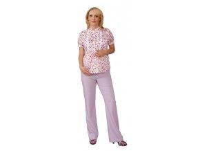Těhotenské kalhoty Rialto Chicio fialová 0309 (Dámská velikost 36)