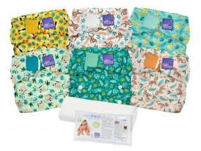 miosolo nappy set (rainforest)