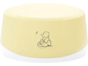 Dětské protiskluzové stupátko ovál Bébé-Jou Cosy Humphrey krémově žlutá
