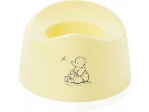 Nočník oválný Bébé-Jou Cosy Humphrey krémově žlutá