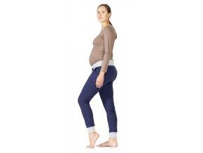 Těhotenské tepláky Rialto Signy NP modré 0496 (Dámská velikost 36)