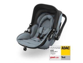 Novorozenecká autosedačka Kiddy Evolution Pro 2 s polohou na ležení 41920EV193 pv ADAC