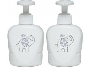 Sada dvou dávkovačů mýdla a šamponu pro termovaničku Bébé-Jou