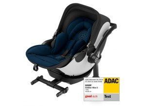 Novorozenecká autosedačka Kiddy Evoluna i-Size indigo blue s isofixovou bází pv with Isofix Base