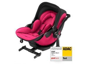Novorozenecká autosedačka Kiddy Evoluna i-Size s funkcí na ležení i ve vozidle with Isofix Base 2
