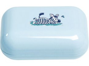 Pouzdro na mýdlo Bébé-Jou Dinky World světle modrá