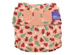 Látkové svrchní kalhotky přes látkové pleny Bambino MioMS LBUG