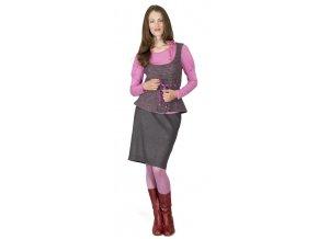 Dámská úpletová vesta Heide fialová 0350