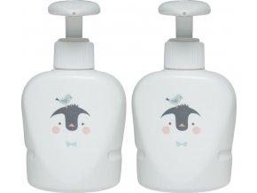 Dávkovače mýdla a šampónu od Bébé-Jou, pasují do termovaničky
