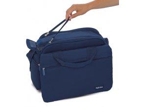 MY BABY BAG APERTUR  prostorná přebalovací taška maodráA