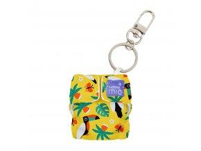 Přívěšek ke klíčům, klíčenka Bambino Mio tropical toucan