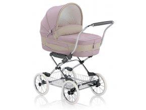Elegantní růžový dětský kočárek Inglesina Vittoria Camelia