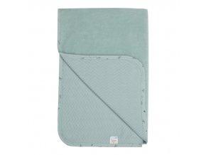 dětská deka Bébé-jou je z oboustranného materiálu
