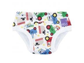 Učící plenkové kalhotky 2-3 roky vzor Bambino Mio Farmer friedsTP FRI