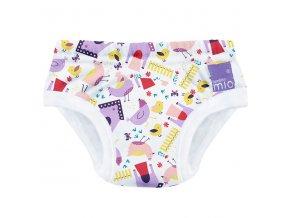 Učící plenkové kalhotky Bambino Mio 2-3 roky se vzorem Hen house