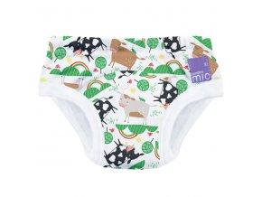 Učící plenkové kalhotky Bambino Mio 2-3 roky vzor Moo meadow