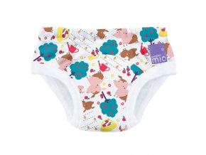 Učící plenkové kalhotky Bambino Mio 16-18 kg Puddle pigs TP PUD