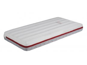 Luxusní sendvičová matrace se studenou i paměťovou pěnou do postýlky 140 x 70 cm vysoká 13 cm JIRAFF
