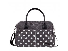 Luxusní přebalovací taška Bébé-Jou Grey Dots  rozbaleno z výstavy