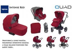 Quad komplexní řešení pro přepravu dítěte od narození do cca 3 let