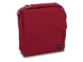 přebalovací taška Inglesina Quad v červené barvě s přebalovací podložkou