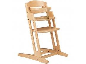 Dřevěná jídelní židlička BabyDan DanChair NATUR