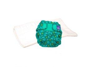 Sada svrchních plenkových kalhotek Hummingbird a bavlněné plenky Bambino Mio pro vyzkoušení  TPMS HUM