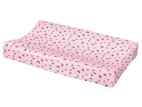 Návlek na přebalovací podložku LUMA Pretty Pink