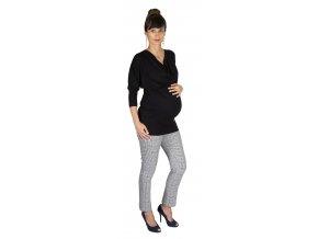 Těhotenské tričko Rialto Rivera černá 0156 (Dámská velikost 36)