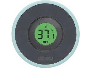 Digitální koupací teploměr s barevnou signalizací správné teploty pro bezpečné koupání miminek