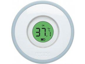 Elektronický koupací teploměr s barevnou signalizací správné teploty pro bezpečné koupání miminek