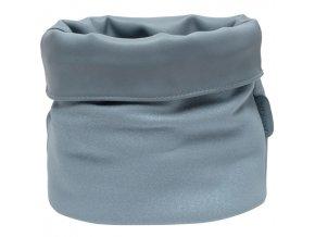 Světle modrý textilní kosmetický košík na kojenecké potřeby Bébé-Jou Fabulous Sparkle Blue