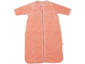 Růžový teplý spací pytel pro miminka Bébé-Jou Fabulous Swan 70cm