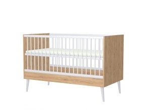 Postýlka 70x140 Cardiff přestavitelná na postel junior