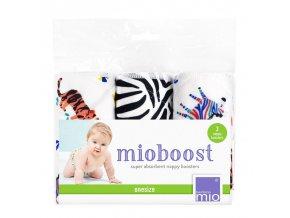 Bambino Mio absorbční vložky Mio Boost Savanna Stripes 3 ks
