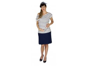 Těhotenská sukně Rialto Braine tm.modrá 0466