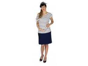 Těhotenská sukně Rialto Braine tmavě modrá 0466